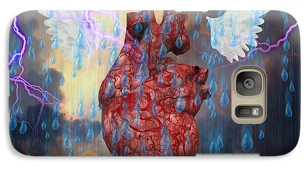Galaxy Case featuring the digital art Heroic Journey by Bruce Rolff