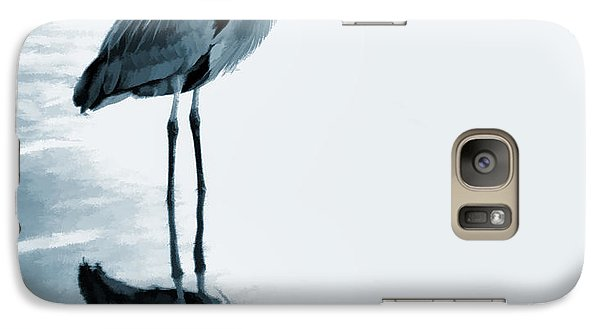 Heron In The Shallows Galaxy S7 Case by Carol Leigh