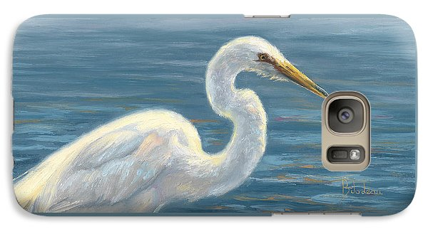 Heron Light Galaxy S7 Case by Lucie Bilodeau