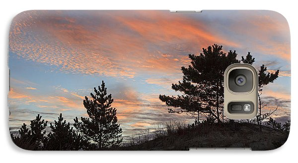 Galaxy Case featuring the photograph Herring Point Sunset by Robert Pilkington