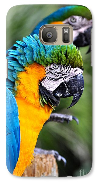 Galaxy Case featuring the photograph He's Always Hogging The Spotlight by Kathy Baccari