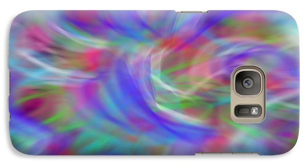Galaxy Case featuring the digital art Hey Babe by Gayle Price Thomas