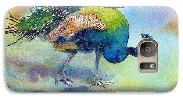 Peacock Galaxy S7 Case - Hey Good Lookin by Amy Kirkpatrick
