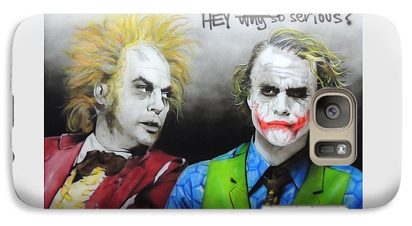 Hey, Why So Serious? Galaxy S7 Case