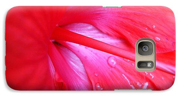 Galaxy Case featuring the photograph Hibiscus by Kara  Stewart