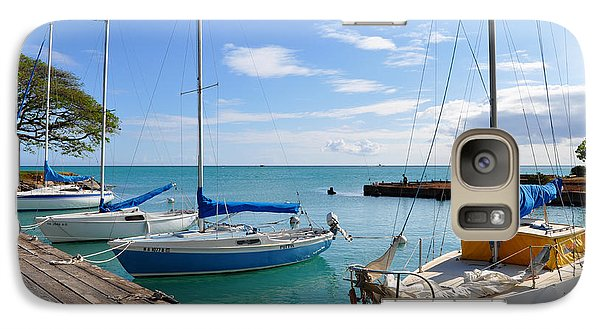 Galaxy Case featuring the photograph Hickam Harbor by Gina Savage