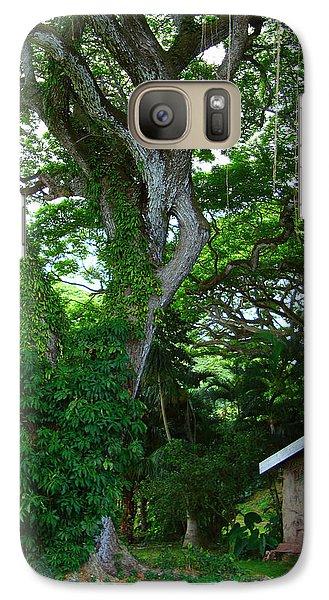 Galaxy Case featuring the photograph Hidden Cottage by Kara  Stewart