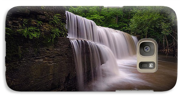 Galaxy Case featuring the photograph Hidden Falls Nerstrand Mn by RC Pics