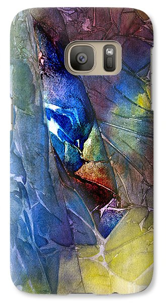 Galaxy Case featuring the painting Hidden Light by Allison Ashton