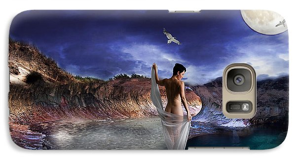 Galaxy Case featuring the digital art Hidden River by Liane Wright