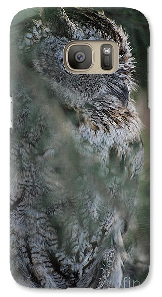 Galaxy Case featuring the photograph Hidden by Sharon Elliott
