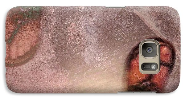 Galaxy Case featuring the digital art Hide And Seek by Delona Seserman