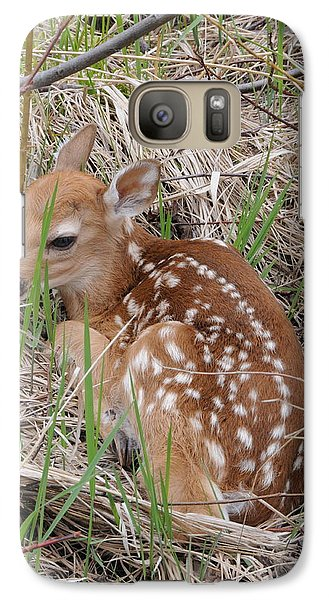 Galaxy Case featuring the photograph Hiding In Plain Sight by Sandra Updyke