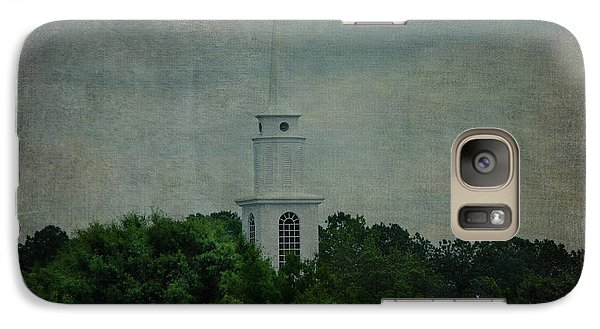 Galaxy Case featuring the photograph High Above by Linda Segerson