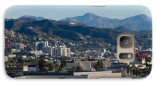 High Angle View Of A City, Beverly Galaxy S7 Case by Panoramic Images