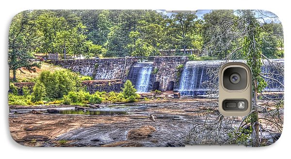 Galaxy Case featuring the photograph High Falls Dam by Donald Williams