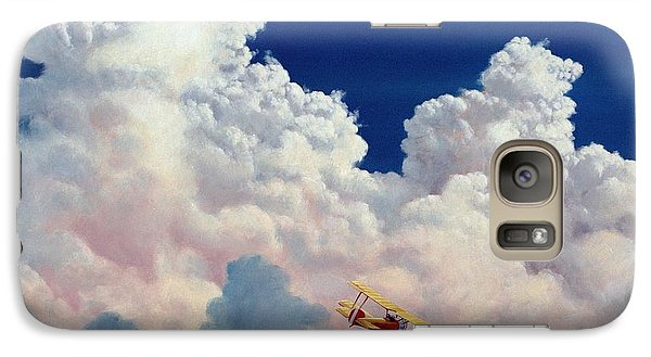 Galaxy Case featuring the painting High In The Halls Of Freedom by Michael Swanson