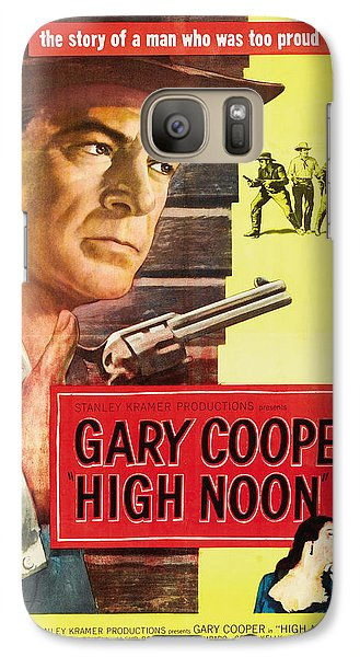 High Noon - 1952 Galaxy S7 Case by Georgia Fowler