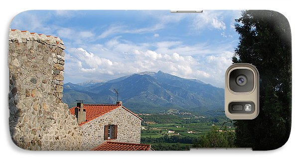 Galaxy Case featuring the photograph High On The Hill by Ankya Klay