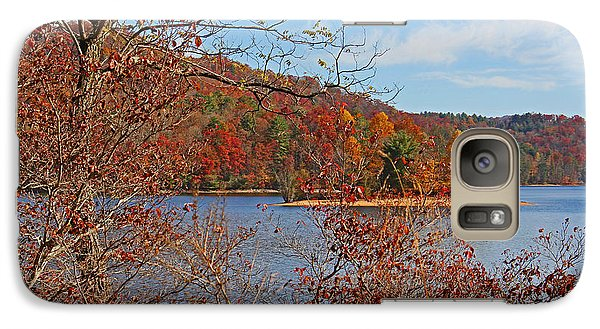 Galaxy Case featuring the photograph High On The Mountain by HH Photography of Florida