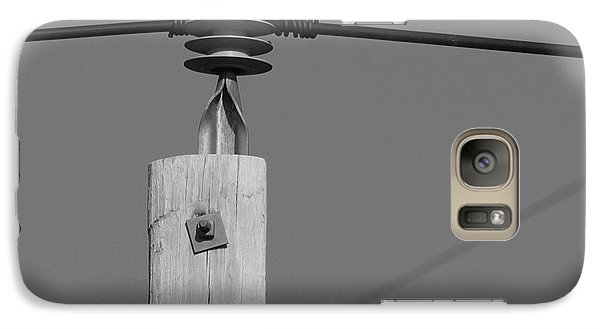 Galaxy Case featuring the photograph High Power Line - 6 by Kenny Glotfelty