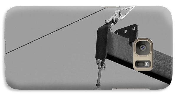 Galaxy Case featuring the photograph High Power Line - 7 by Kenny Glotfelty