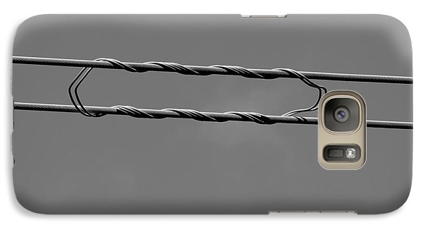 Galaxy Case featuring the photograph High Power Lines - 8 by Kenny Glotfelty