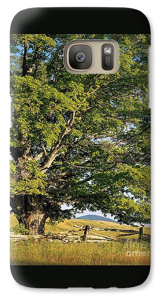 Galaxy Case featuring the photograph High Summer by Alan L Graham