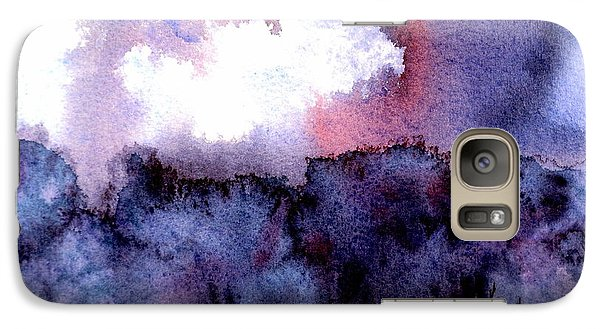 Galaxy Case featuring the painting High Valley Weather by Anne Duke