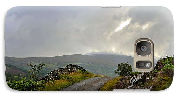 Galaxy Case featuring the photograph Highland Bridge Scotland by Sally Ross