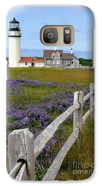 Galaxy Case featuring the photograph Highland Lighthouse by Paula Guttilla