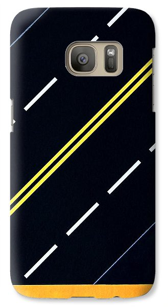 Galaxy Case featuring the painting Highway by Thomas Gronowski