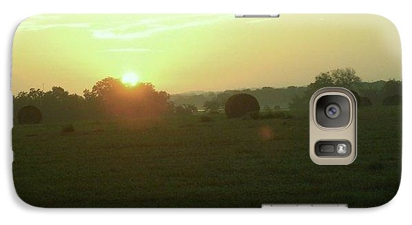 Galaxy Case featuring the photograph Hill Country Sunrise by John Glass