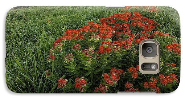 Galaxy Case featuring the photograph Hillside Bouquet  by Scott Bean