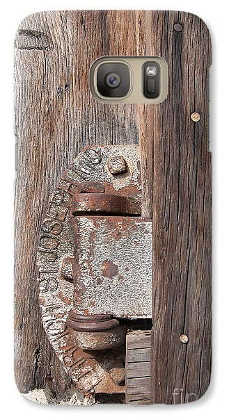 Galaxy Case featuring the photograph Hinge 1 by Minnie Lippiatt