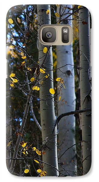 Galaxy Case featuring the photograph Hint Of Gold by Ruth Jolly