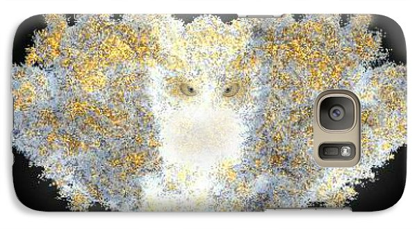 Galaxy Case featuring the digital art Hint Of Owl by Steed Edwards