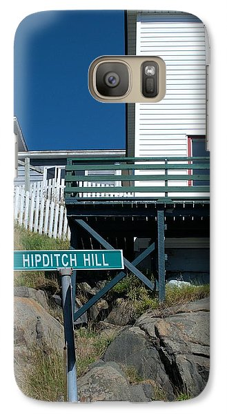 Galaxy Case featuring the photograph Hipditch Hill by Douglas Pike