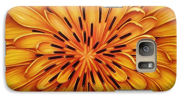 Galaxy Case featuring the painting Hipnose by Paula L