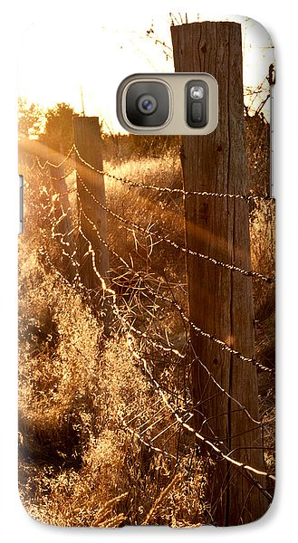 Galaxy Case featuring the photograph His Light by Jessica Tookey