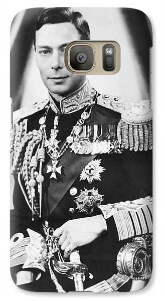 His Majesty King George Vi Galaxy Case by Underwood Archives