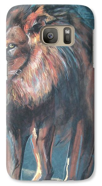 Galaxy Case featuring the pastel His Majesty by Peter Suhocke