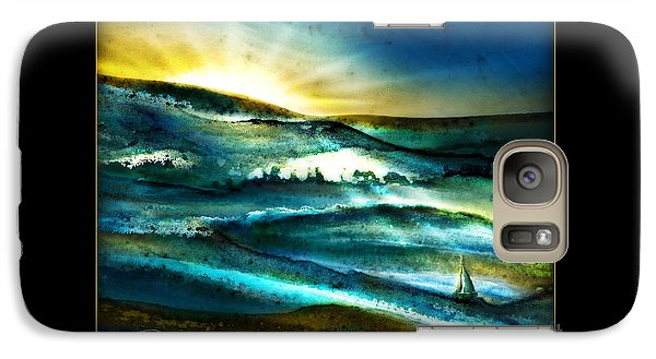 Galaxy Case featuring the painting His Mercies Are New Every Morning by Shevon Johnson