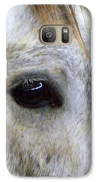 Galaxy Case featuring the photograph His Spirit Was Stolen by John Glass