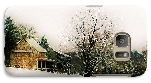 Galaxy Case featuring the photograph Historic 1700's Farmhouse by Polly Peacock