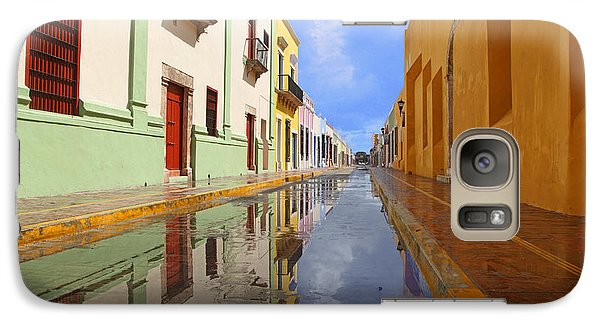 Galaxy Case featuring the photograph Historic Campeche Mexico  by Susan Rovira