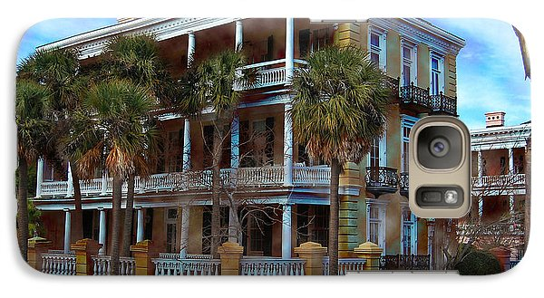 Galaxy Case featuring the photograph Historic Charleston Mansion by Kathy Baccari