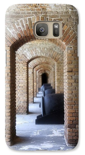 Galaxy Case featuring the photograph Historic Hallway by Laurie Perry