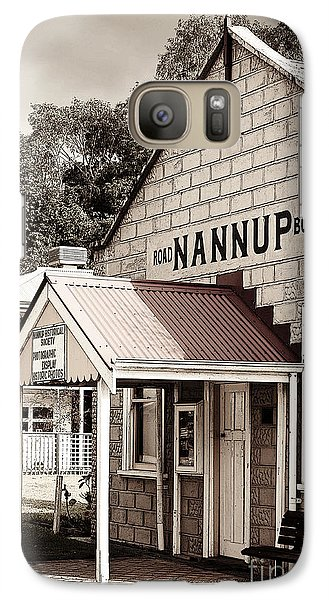 Galaxy Case featuring the digital art Historic Nannup by Serene Maisey