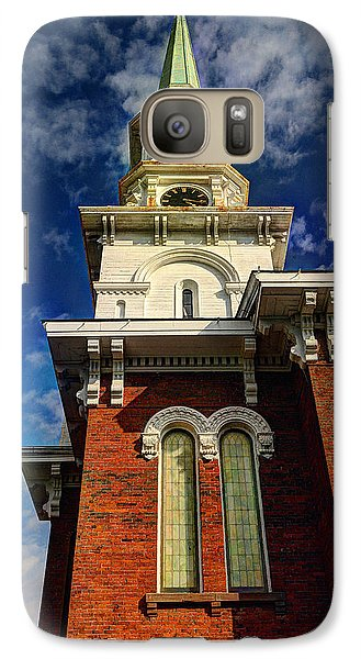Galaxy Case featuring the photograph Historic Steeple by Linda Edgecomb